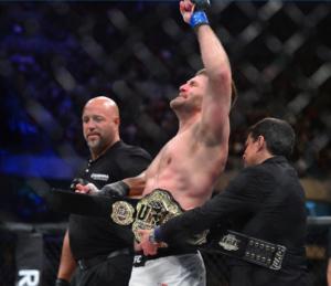 UFC 198 Stipe Miocic belt 1