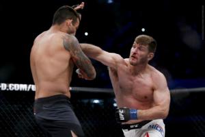 UFC 198 Werdum VS Miocic knockout