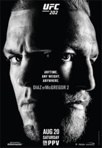 UFC 202 Event poster